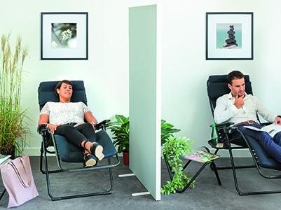 Wie richtet man einen Pausenraum in einem Unternehmen ein und warum?