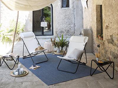 Wie richtet man eine kleine Terrasse ein?