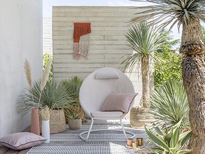 Wie dekoriert man eine moderne Terrasse ?