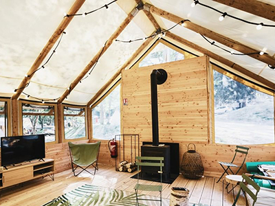 Was ist Glamping ?