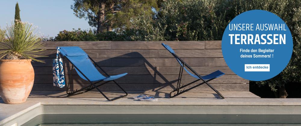 Lafuma Mobilier DE - terrasse (transat)